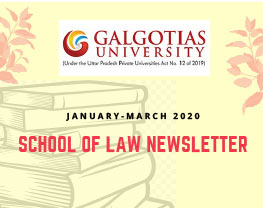 Newsletter Jan-March 2020