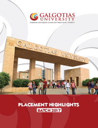 Placement Highlight 2017 Batch